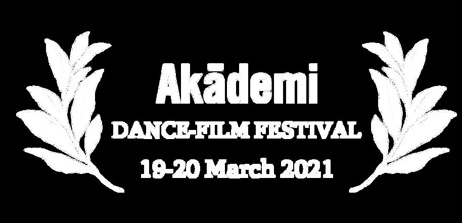 Akademi Dance-Film Festival 2021 Co-Curation
