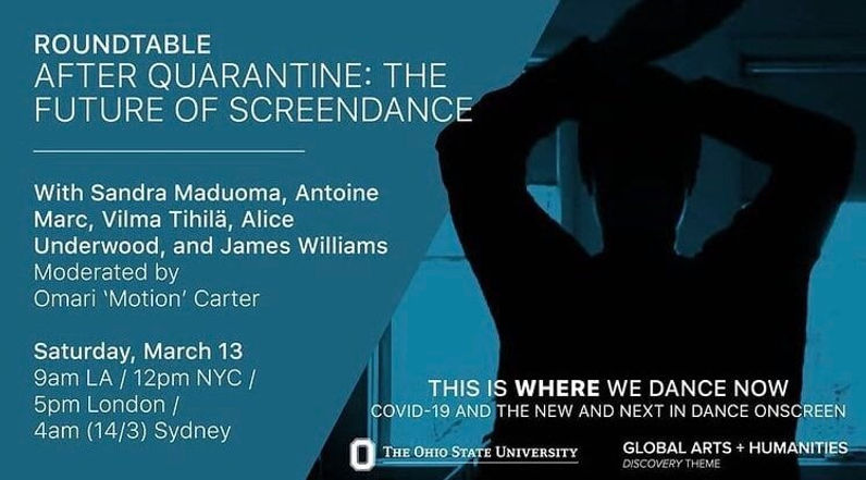 ROUNDTABLE: After Quarantine - The Future of Screendance