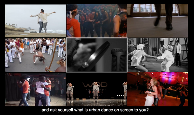 Artist Presentations Now Available on Screen.Dance Website