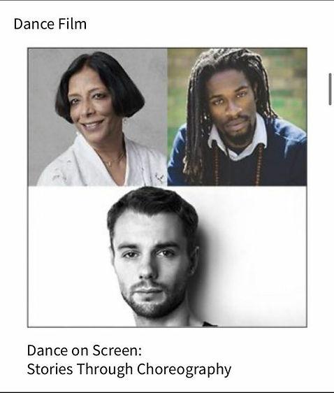 'Dance on Screen: Stories Through Choreography'