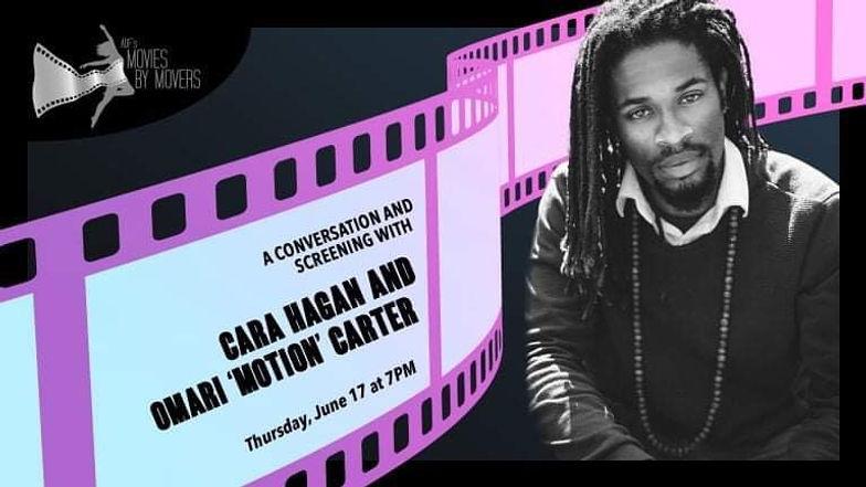 Omari 'Motion' Carter x Cara Hagan x ADF's Movies by Movers!