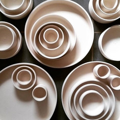 Bisque fired bowls.jpg They will be glaz