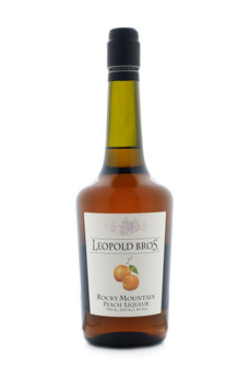 Leopold Bros. Rocky Mountain Peach Liqueur