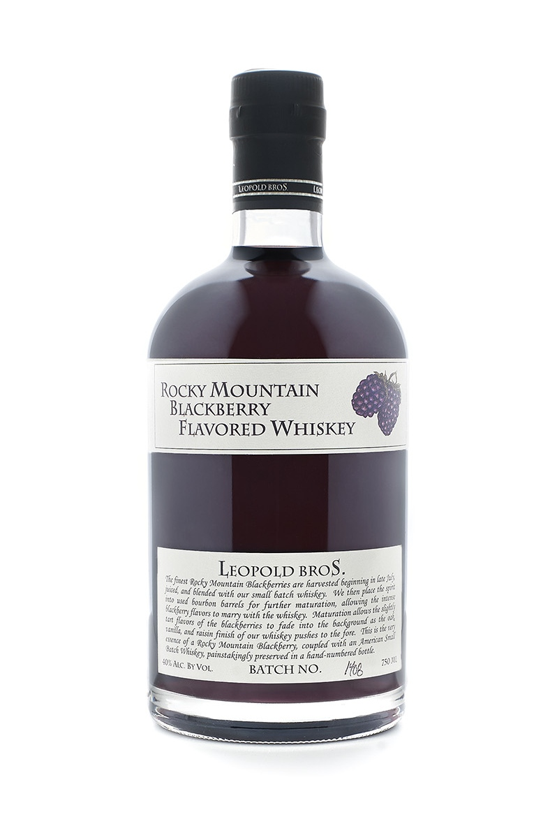 Rocky Mountain Blackberry Whiskey