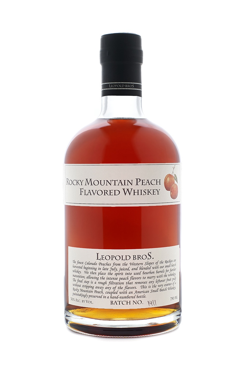 Rocky Mountain Peach Whiskey
