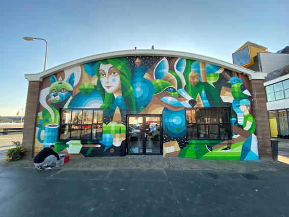 Mural Punt door I AM EELCO