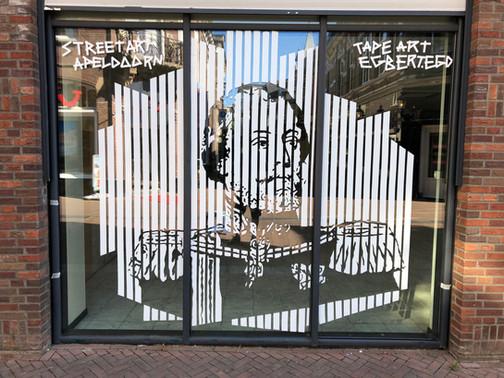 Koning Willem III Tijdens Apeldoorn Street Art Festival