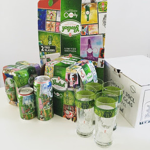 Grolsch 400 glas/verpakking