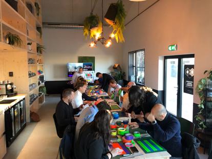 Tape Art Workshop.EGD