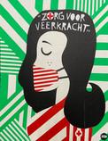 Zorg voor Veerkracht Tape Art