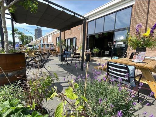 PUNT Terras/Café aan de Haven >PopUp<