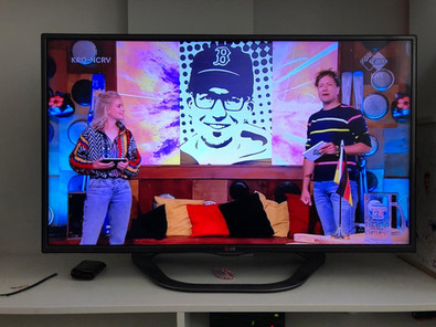 Tape Art workshop op TV bij ZappLive