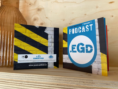 Podcast.EGD Artwork boek