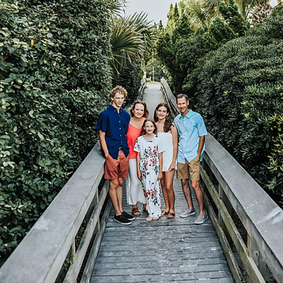 Shelia and her Family Beach Session