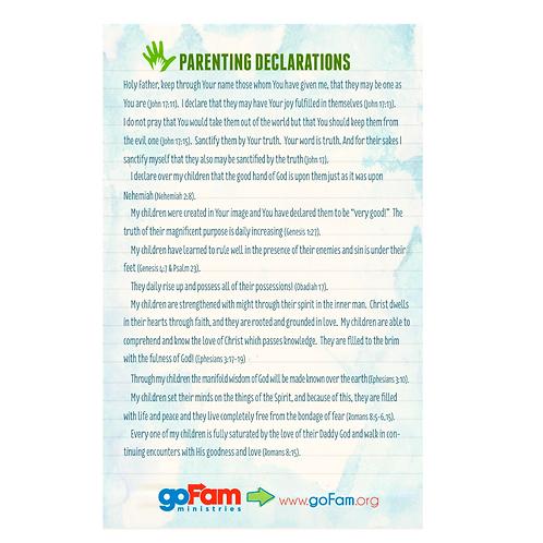 Parenting Declarations