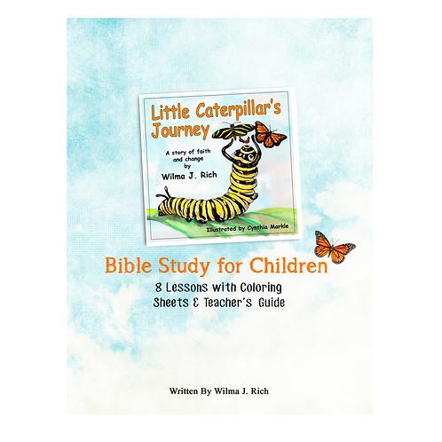 Little Caterpillar's Journey Bible Study for Children