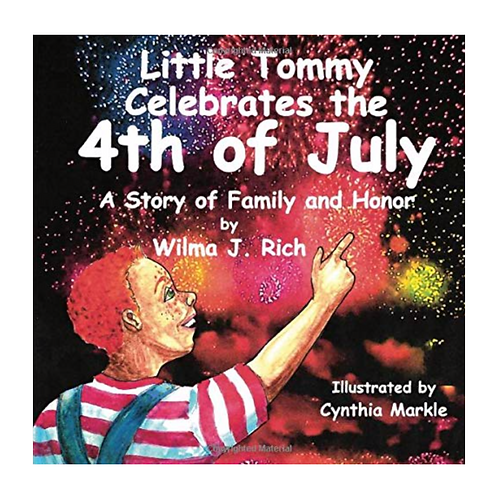 Little Tommy Celebrates the 4th of July