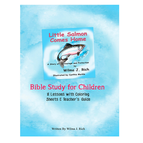 Little Salmon Comes Home Bible Study for Children