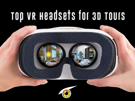 Top VR Headsets for 3D Virtual Tours