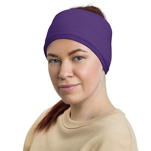 Solid Purple Neck Gaiter