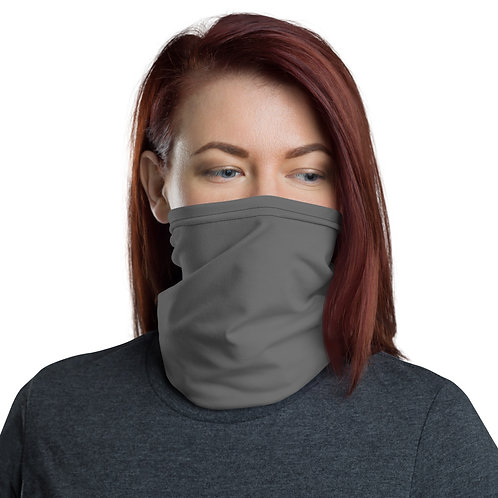Solid Gray Neck Gaiter