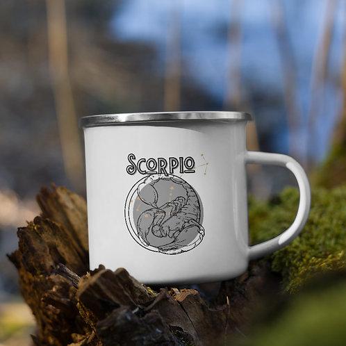 Scorpio Zodiac | Enamel Mug