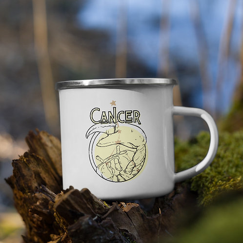 Cancer Zodiac | Enamel Mug