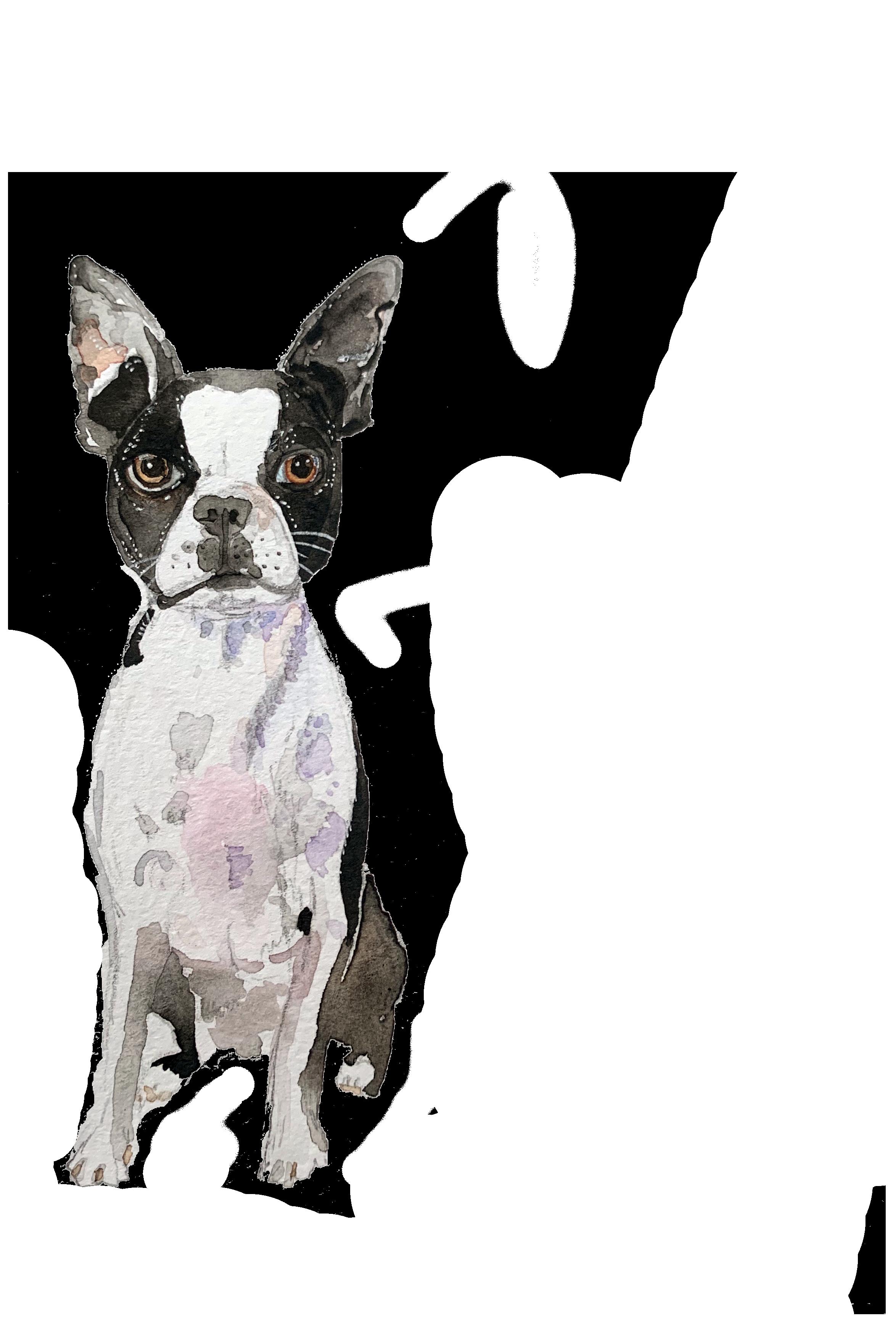 Watercolor Booker Boo