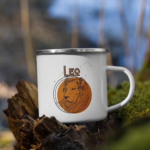 Leo Zodiac | Enamel Mug