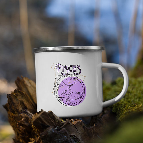 Pisces Zodiac | Enamel Mug