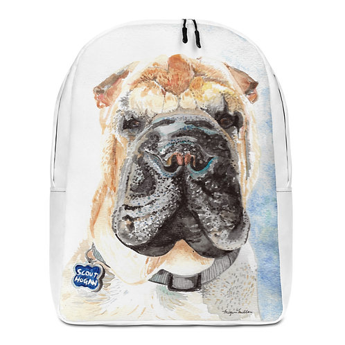 Shar Pei - Minimalist Backpack