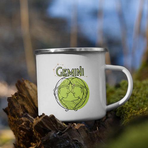 Gemini Zodiac | Enamel Mug