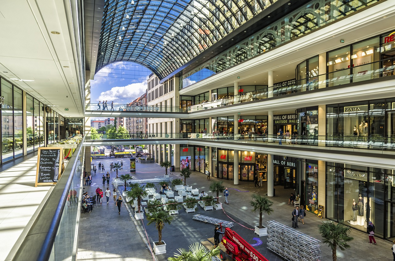 3D Virtual Reality - Retail & Shopping Centers
