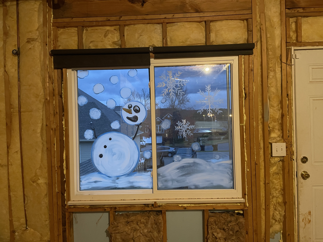 Residential | SnowMan Dodging Snowballs From Baby Yoda