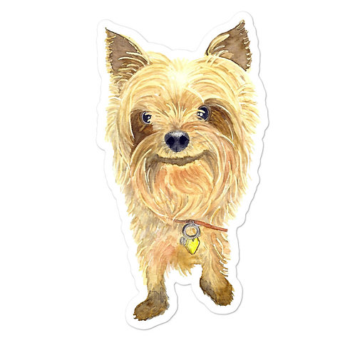 Hello Yorkie | Bubble-free stickers