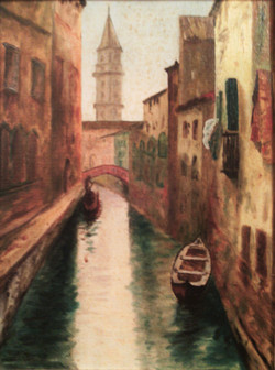 Cuadro Juan Larrea Venecia 1950 (2)