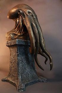 Key of Cthulhu Statue