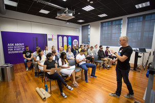 Bootcamp for start-ups tests entrepreneurial skills to the limit