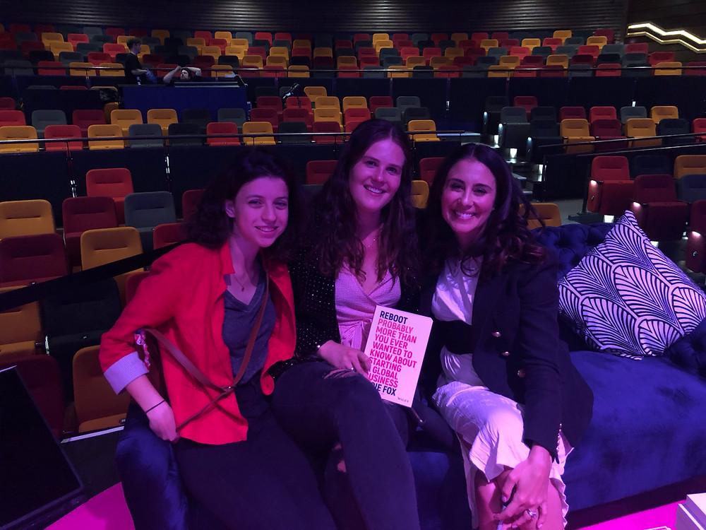 L-R: Isabel Lemming, Rachel Adams and Jodi Fox