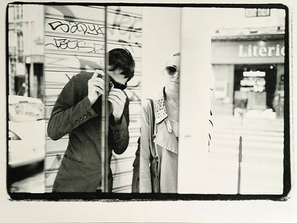 b&w selfy autoportrait street photography darkroom mirror arty fractal