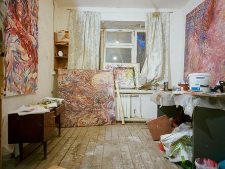 Urbex : l'atelier gallery de Dmitry
