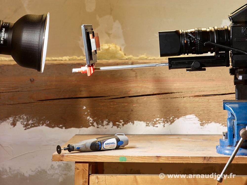 Duplication numérique de film négatif avec le soufflet Hasselblad (3040517)