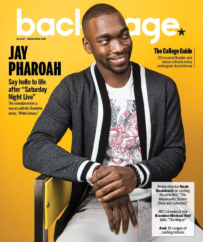 JAY PHAROAH- BACKSTAGE MAGAZINE