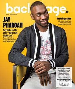 JAY PHAROAH- BACKSTAGE MAGAZINE