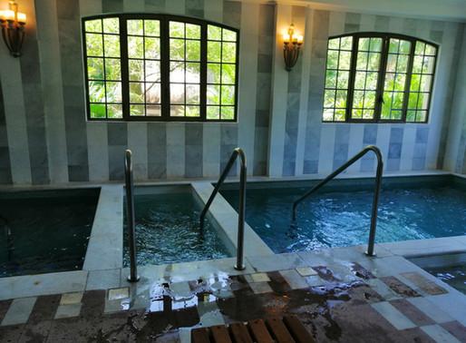 Como relajarse en esta nueva etapa;     La experiencia de un circuito de Hidroterapia.