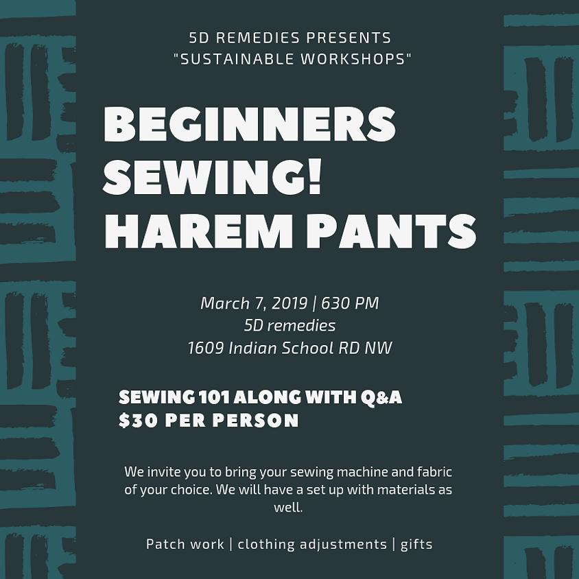 Beginners Sewing