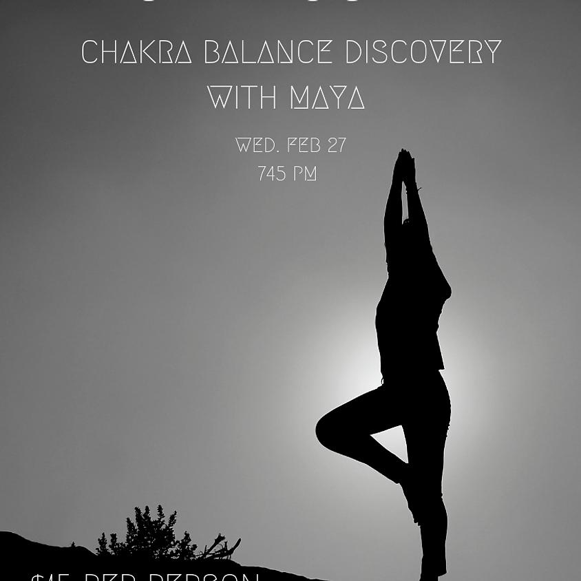 Chakra Balance Discovery YOGA by Maya
