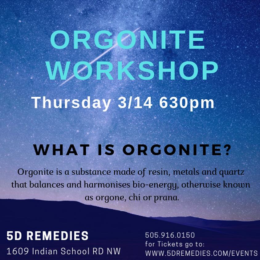 Orgonite Workshop