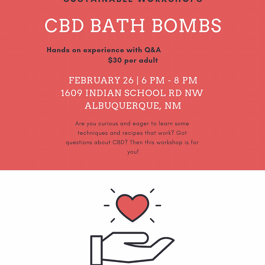 CBD Bath Bomb Workshop