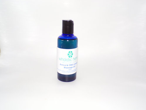 Arnica & CBD Massage Oil